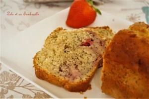 Cake aux fraises