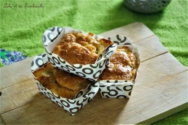 Cakes au thon & mozzarella