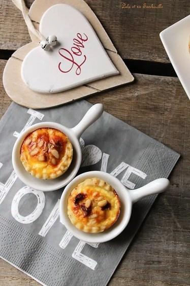 Tartelettes aux tomates séchées & yaourt à la Grecque (5)