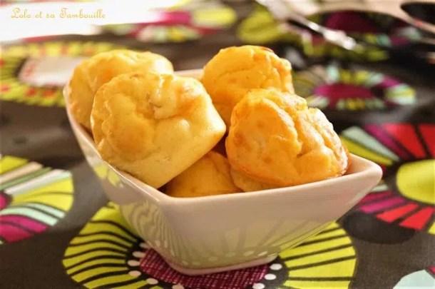 Muffins à la savora & fromage frais