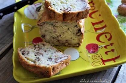 Cake aux courgettes & noix 2(10)