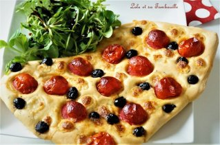 Foccacia tomates cerise & mozzarella (3)