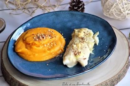 Cabillaud au pécorino truffé & puréée de butternut (4)
