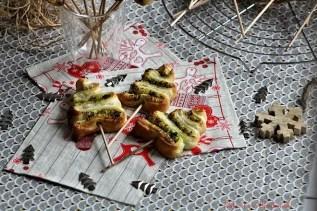 Sapins feuilletés au pesto (4)