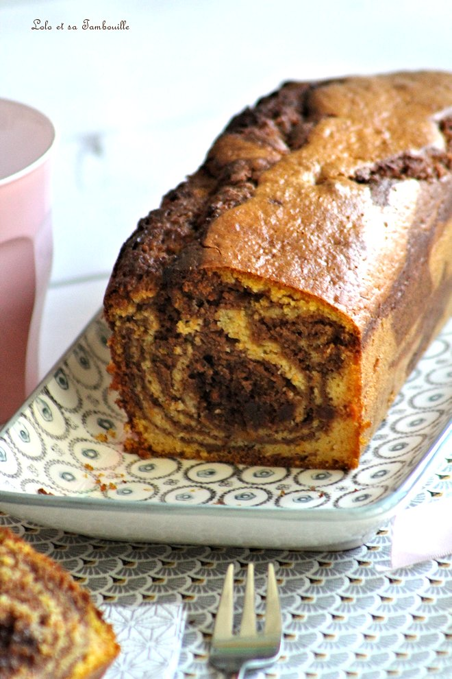 Marbré butternut & chocolat