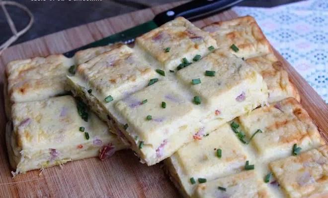 Gâteau salé au fromage blanc {lomo & savora}