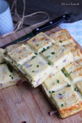 Gâteau salé au fromage blanc...