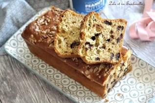 Cake au beurre de cacahuètes & pépites de chocolat (4)