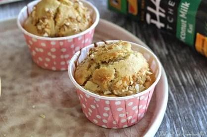 Muffins au lait de coco & pommes (4)