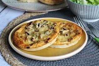 Pizza sans pâte poireaux & bacon (2)