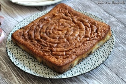 Gâteau moelleux aux poires & pépites de chocolat (2)