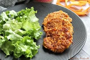 Galettes de carottes & beurre de cajou {aux blanx d'oeufs} (11)