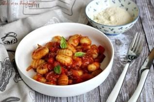 Gnocchis sauce tomates & coppa (2)