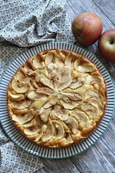 Moelleux aux pommes & mascarpone (2)