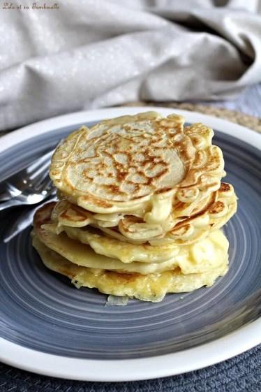 Pancakes fourrés chorizo & emmental (5)
