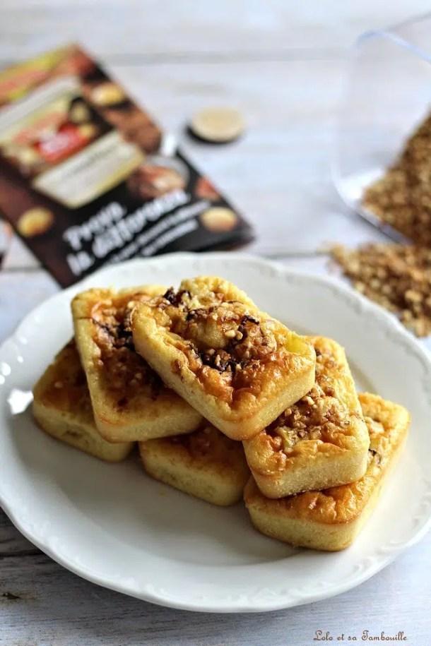 Cakes à la crème fraîche & pommes