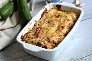 Lasagnes aux courgettes & brandade (2)