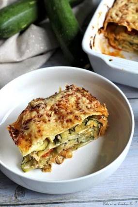 Lasagnes aux courgettes & brandade (3)