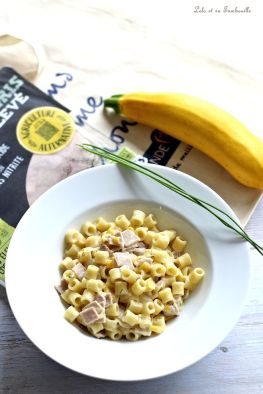 Pastasotto jambon & courgette jaune (6)