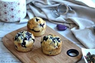 Muffins aux myrtilles (2)