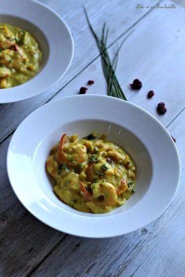 One pot pasta aux crevettes (6)