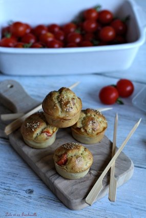Muffins aux tomates cerises (3)