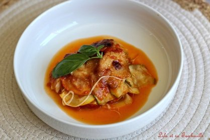 Parmigiana de courgettes & scarmorza 1(6)