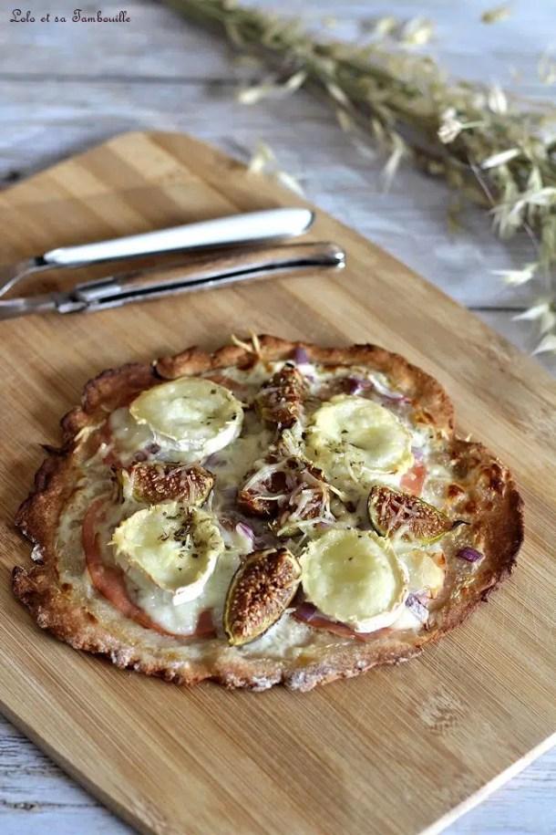 Pizza express figue & chèvre
