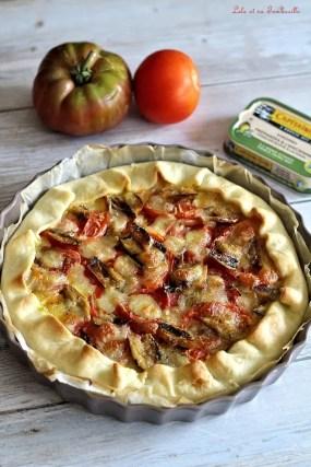 Tarte aux sardines & tomates (2)