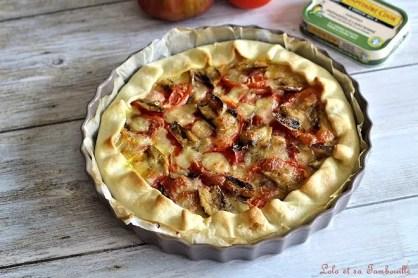 Tarte aux sardines & tomates (3)