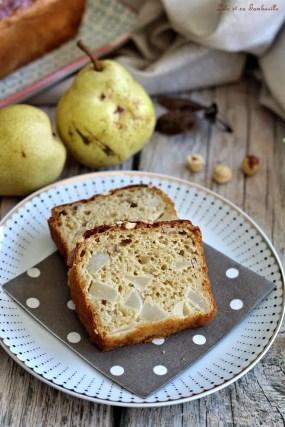Cake aux poires & noisettes (4)