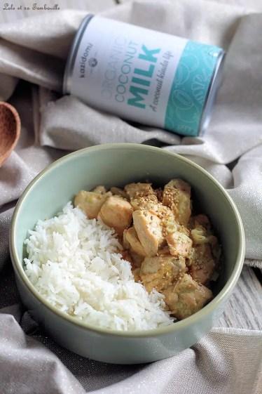 Curry de saumon au lait de coco (5)