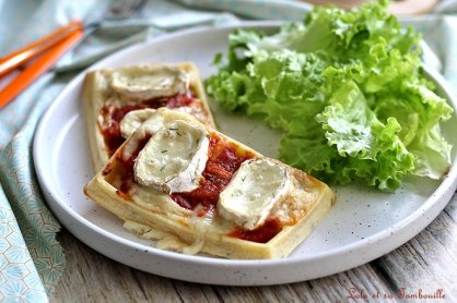 Gaufres au four façon pizza (4)