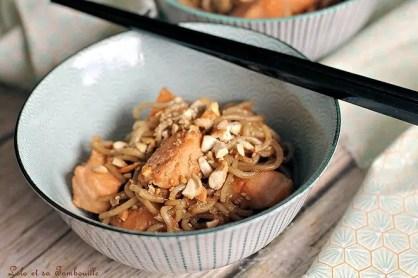 Saumon au miel & soja (1)