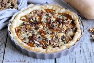 Tarte à la butternut & bleu d'auvergne (2)