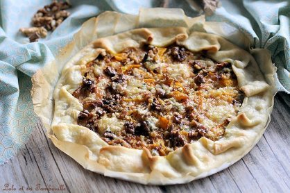 Tarte au potiron & gorgonzola (2)