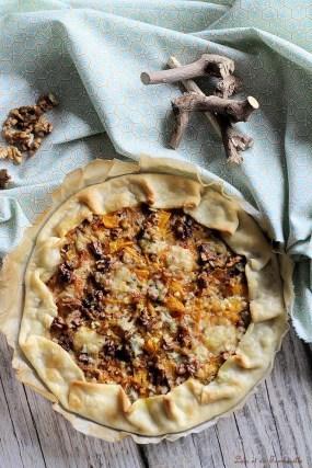 Tarte au potiron & gorgonzola (3)