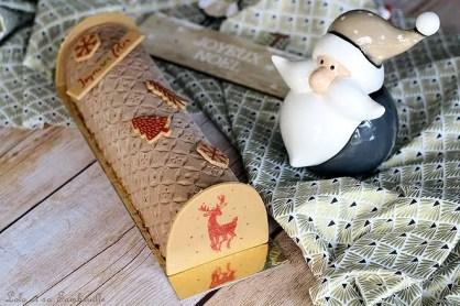 Bûche chocolat & caramel beurre salé (4)