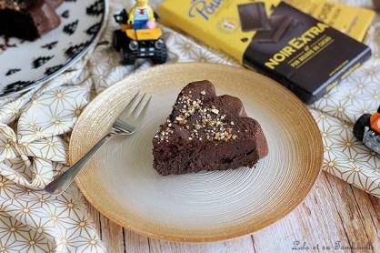 Fondant au chocolat & compote (4)