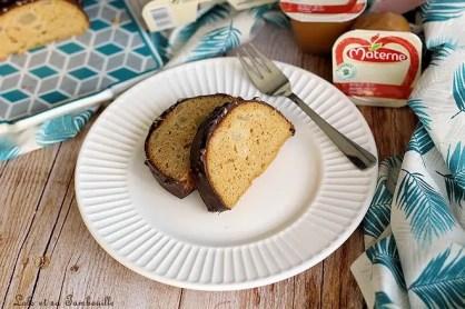 Moelleux compote & poire {glaçage rocher} (5)