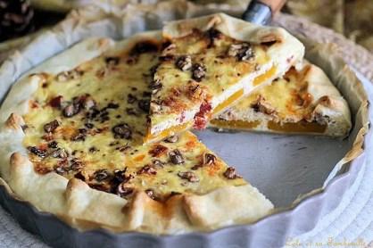Tarte au chorizo & butternut (5)