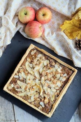 Tarte noisettines aux pommes (3)