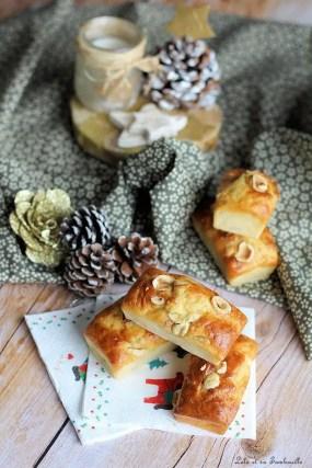 Cakes au confit d'oignon & noisettes (2)