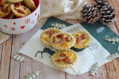 Tartelettes Montbéliard & parmesan (1)