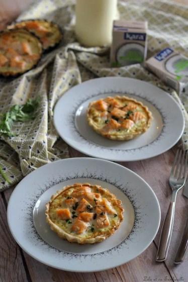 Tartelettes saumon & crème de coco (1)