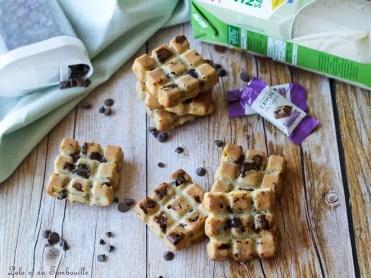 Moelleux au beurre de cacahuètes & chocolat (4)