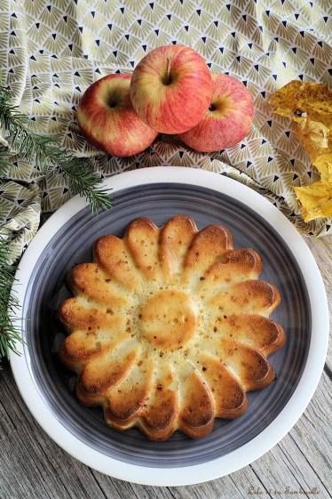 Gâteau aux pommes allégé (3)