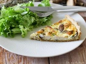 Tarte au poulet & champignons (4)