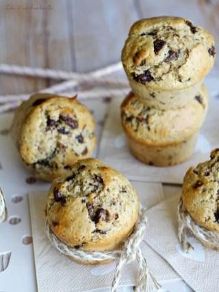 Muffins beurre de cacahuètes & pépites de chocolat (3)