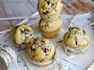 Muffins beurre de cacahuètes & pépites de chocolat (4)
